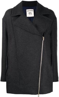 Semi-Couture Virgin Wool-Blend Jacket