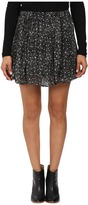 Lucky Brand Printed Mini Skirt