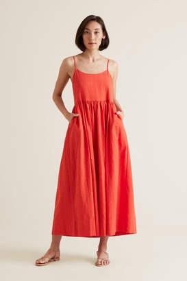 Seed Heritage Self-Check Midi Dress
