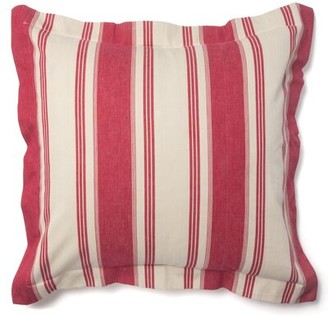 Amity Home Cam Unquilted Sham Size: Euro, Color: Red