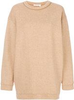 See by Chloe oversized sweatshirt - women - Cotton/Polyester - XS