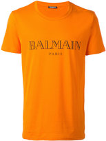 Balmain logo T-shirt - men - Cotton - M