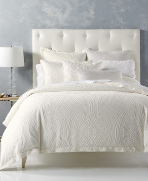 Hotel Collection Closeout! Trousseau Cotton Full/Queen Duvet Cover, Created for Macy's Bedding