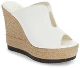 Callisto 'Alessa' Platform Wedge Slide Sandal (Women)