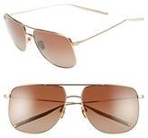 Salt Men's 'Odin' 58Mm Polarized Sunglasses - Honey Gold/ Brown