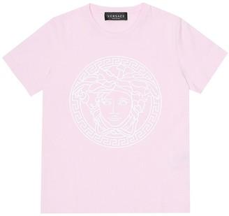 Versace Kids Medusa-logo cotton T-shirt