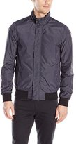 Scotch & Soda Men's Basic Nylon Bomber Jacket