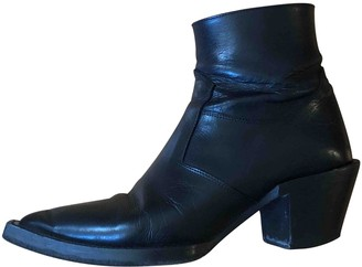The Kooples Fall Winter 2019 Black Leather Boots