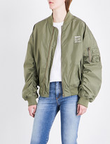 Fiorucci Lou shell bomber jacket