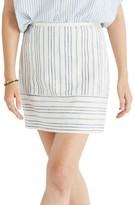 Madewell Women's Gamine Stripe Miniskirt