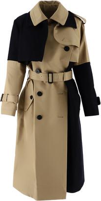 Sacai Two-tone Trench Coat