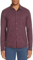 Velvet Marsh Knit Regular Fit Button-Down Shirt
