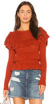 Ulla Johnson Mabel Pullover in Rust. - size L (also in M,S,XS)
