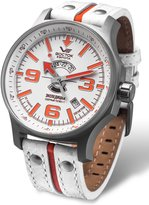 Vostok Europe Expedition North Pole Men's 31J Automatic Watch and Orange 2432/5955273