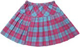 Nuoqi wigs Nuogi wigs Lady's Pleated Skirt School Uniform Casual Plaid Skirts Plus