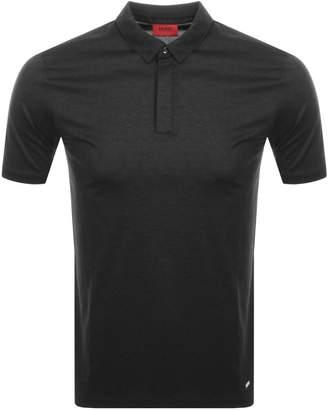 HUGO Dhenzen Polo T Shirt Grey