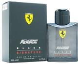 Ferrari Scuderia Black Signature by Eau de Toilette Men's Spray Cologne - 4.2 fl oz