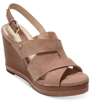 Cole Haan Women's Laci Platform Wedge Sandals