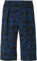 Giorgio Armani peculiar print shorts - men - Cupro - 46