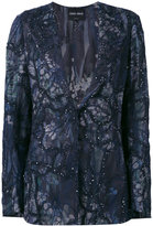 Giorgio Armani sequin embellished jacket - women - Silk/Cotton/Polyamide/Viscose - 42