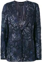Giorgio Armani sequin embellished jacket