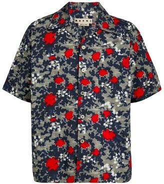 Marni Camoflauge Bowling Shirt