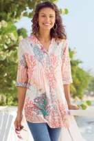 Soft Surroundings Malha Reef Shirt & Cami