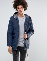 Minimum Shelton Hooded Parka In Navy