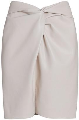 Nanushka Milo Vegan Leather Mini Skirt