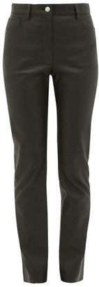 Joseph Cindy Leather Trousers - Black