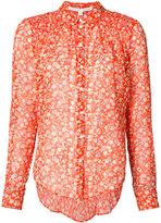 Veronica Beard floral print shirt - women - Silk - 4