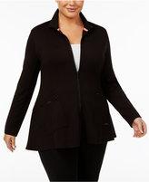 Calvin Klein Plus Size Jacket