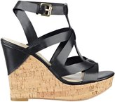 GUESS Harlea Cork Wedges