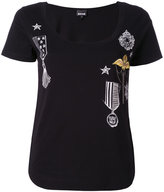 Just Cavalli embellished T-shirt - women - Cotton - XS