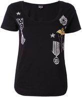 Just Cavalli embellished T-shirt - women - Cotton - XS