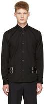 Comme des Garcons Black Double Belt Shirt