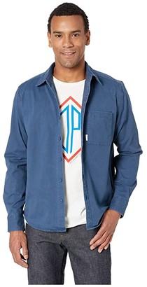 Topo Designs Dirt Shirt (Navy) Men's Clothing