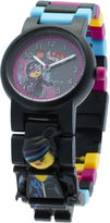 Lego Movie Lucy Wyldstyle Kids Watch with Mini Figure