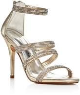Caparros Immense Metallic Embellished High Heel Sandals