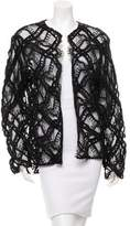 Chanel Embroidered Lace Cardigan