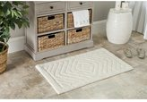Safavieh Plush Master Marquis Diamond Natural Bath Rug (Set Of 2)