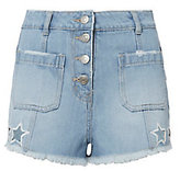 Sjyp Star Cutout Shorts