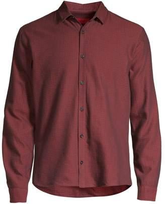 HUGO Ero Extra Slim-Fit Check Shirt
