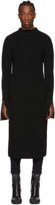 Random Identities Black Dress Crewneck Sweater