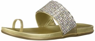Kenneth Cole Reaction Women Slim Tricks 2 Toe-Ring Sandal Flat