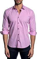 Jared Lang Semi-Fitted Long-Sleeve Sport Shirt T-551