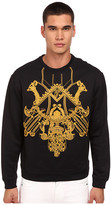 Versace Embroidered Mirrored Baroque Pullover
