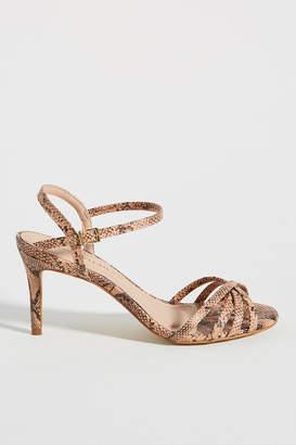 Raphaella Booz Snake-Printed Heels