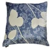 Aviva Stanoff Velvet Lemon Leaf Silk Dupioni Pillow