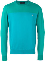 Etro colour block jumper - men - Cotton - M